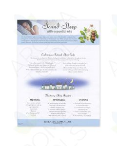 """""""Sound Sleep with Essential Oils"""" Tear Pad (50 Sheets)"""