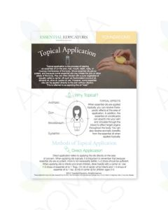 "Essential Educators: ""Topical Application"" Mini Tear Pad (50 Sheets)"