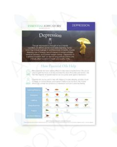 "Essential Educators: ""Depression"" Mini Tear Pad (50 Sheets)"