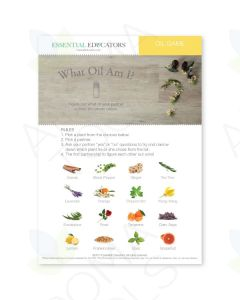 "Essential Educators: ""What Oil Am I?"" Mini Tear Pad Game (50 Sheets)"