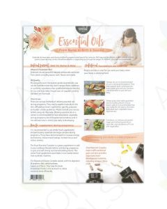 """Essential Oils From Bump to Birth and Beyond"" Tear Pad (25 Sheets)"