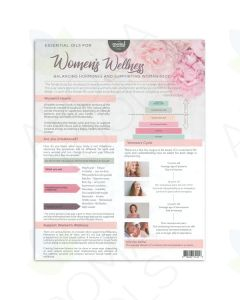 """""""Essential Oils for Women's Wellness"""" Tear Pad (25 Sheets)"""