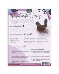 """A Guide to Aromatic Dressing"" 2-Page Foldout (Pack of 25)"