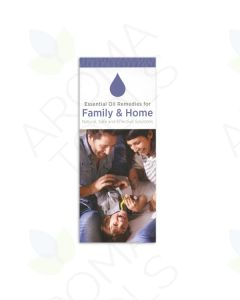 """Essential Remedies for Family and Home"" Brochure (Pack of 20)"