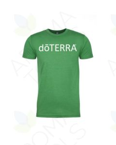 "Men's Green ""doTERRA"" Short-Sleeve Shirt"