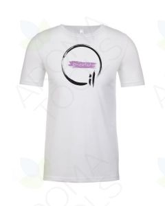 "Unisex White ""Essential Oil"" Short-Sleeve Shirt"
