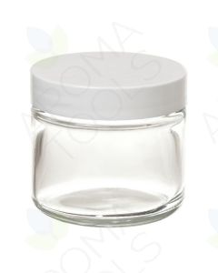 2 oz. Glass Salve Jar