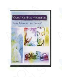 """Crystal Rainbow Meditation"" CD by Janice Johnson and Pierre Garreaud"