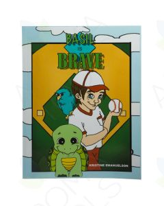"""Basil is Brave"" Activity Book by Kristine Emanuelson"