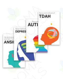 Spanish Mental Health Booklets Bundle (Set of 4)