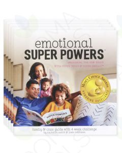 """""""Emotional Super Powers: Awakening the New Brain with Super Tools & Super Smells"""" Booklet, by Pam Robinson and Rachelle Castor (Pack of 5)"""