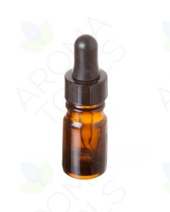 5 ml Amber Glass Vials with Dropper Caps (Pack of 6)