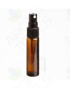 10 ml Amber Glass Vials with Misting Spray Tops (Pack of 6)