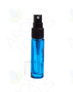 10 ml Blue Glass Vials with Misting Spray Tops (Pack of 6)
