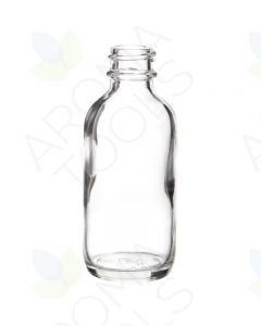 2 oz. Clear Glass Bottle ONLY (Single Bottle, NO LID)