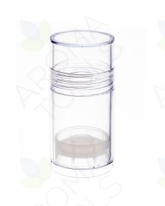 1 oz. Clear Round Twist Tube