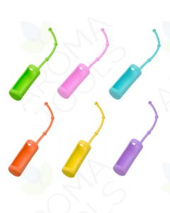 Assorted Travel Carriers for 1/3 oz. Roll-on Vials (Pack of 6)