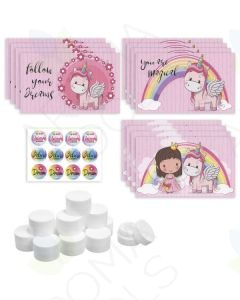 "DIY Assorted ""Unicorn"" Lip Balm Gift Set"