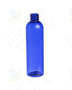 4 oz. Blue PET Plastic Bullet Bottle (20-410 Neck Size)