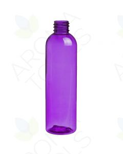 4 oz. Purple PET Bullet Plastic Bottle (20-410 Neck Size)