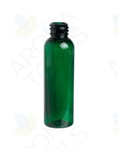 2 oz. GREEN PET Bullet Bottle, 20-410 (Single Bottle, NO LID)
