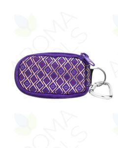 Aroma Ready Key Chain Case (Holds 8 Sample Vials)