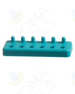 "Plastic ""00"" Capsule Holder (6 Slots/6 Pegs)"