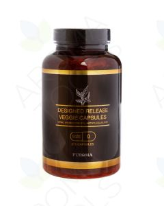 Design-Release, Small, Size-0, Empty Vegetarian Capsules (275 Count)