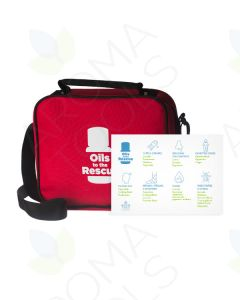 """Oils to the Rescue"" Kit and Usage Card"