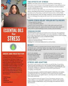 """Essential Oils for Stress"" Digital Tear Pad"