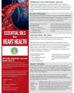 """Essential Oils for Heart Health"" Digital Tear Pad"