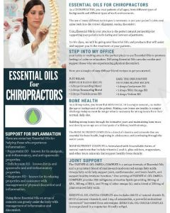 """Essential Oils for Chiropractors"" Digital Tear Pad"