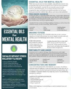 """Essential Oils for Mental Health"" Digital Tear Pad"