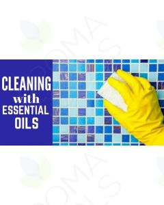 """""""Cleaning with Essential Oils"""" Essential Oil Academy Digital Online Class"""