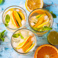 Smooth Citrus Water Infusion