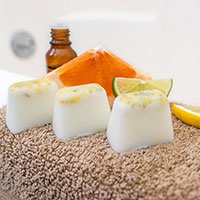 Coconut Citrus Bath Melts