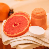Mint Grapefruit Sugar Scrub