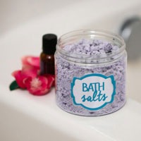 Lavender Bubble Bath Salts
